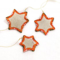 Felted Stars Ornament (3)