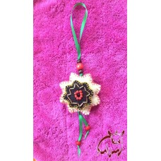 Felted Star Ornament
